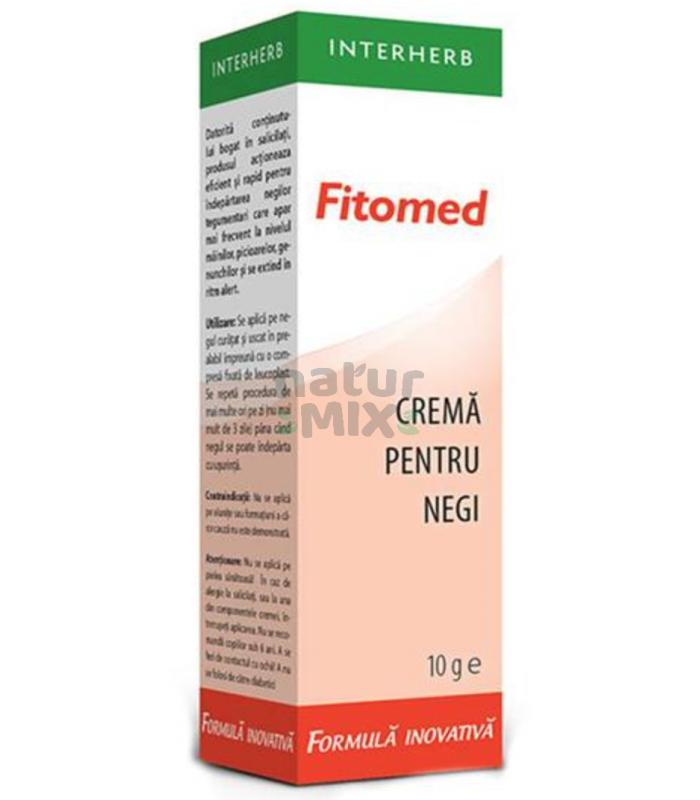Fitomed Crema Impotriva Negilor 10 g - Interherb