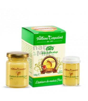 Laptisor de Matca pur, Albina Carpatina, 100 g + 25 g